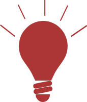 red bulb with lines_200